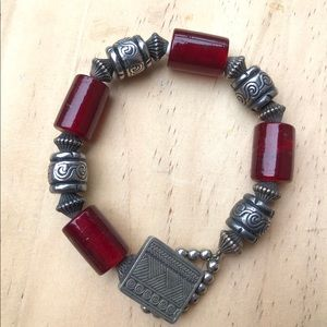 Signed artisan made bracelet